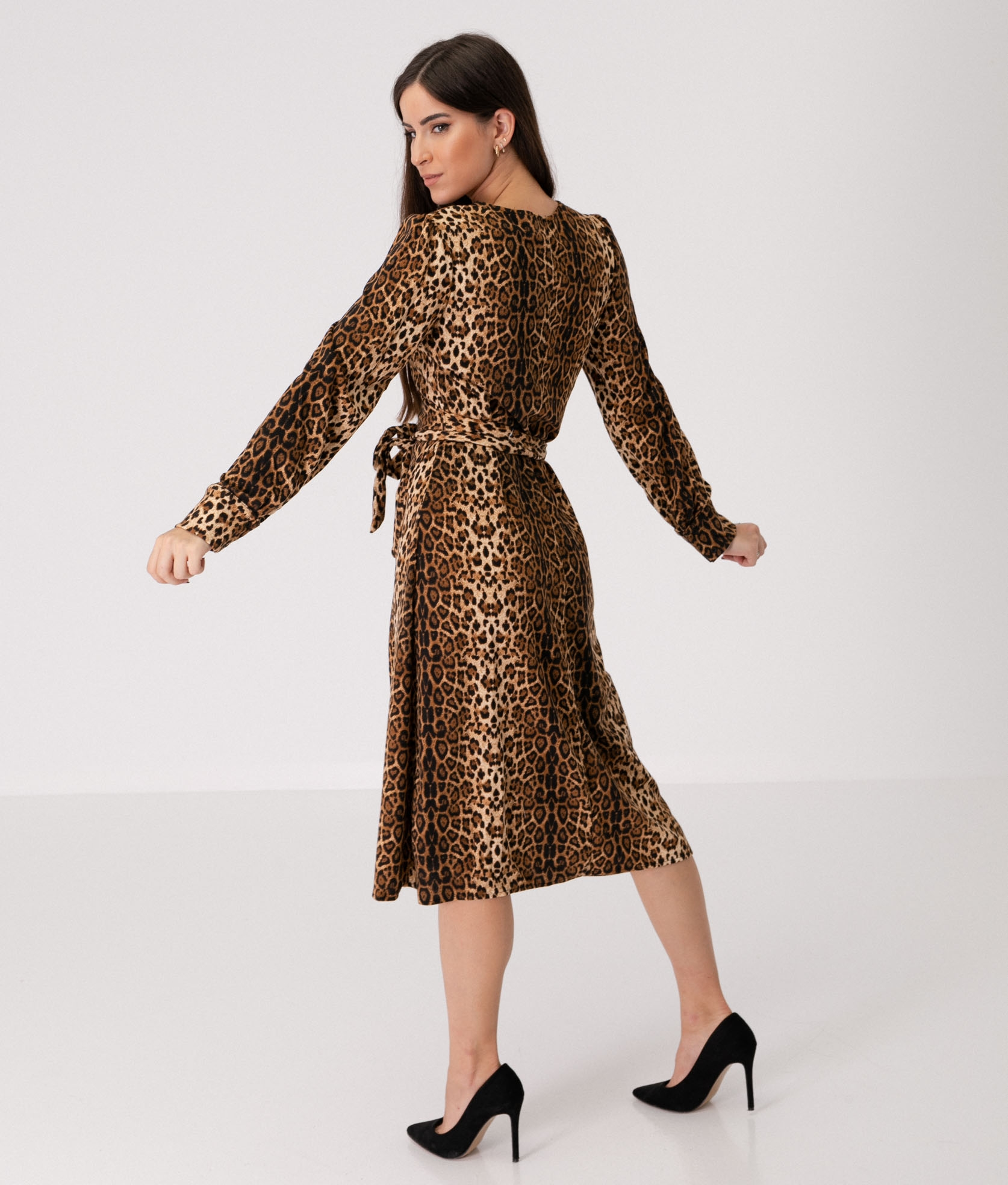 Dress Oregon - Leopard