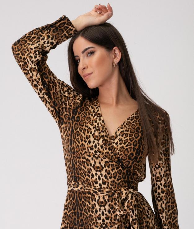 Vestido Oregon - Leopardo