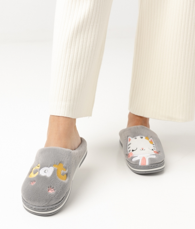 CHAUSSURE CATY - GRIS