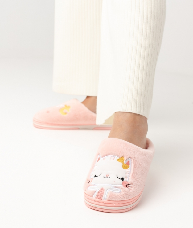 CATY SLIPPERS - PINK