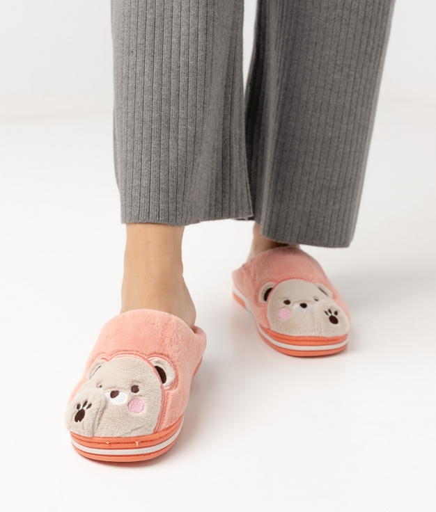 OSIRA SLIPPERS - CORAL