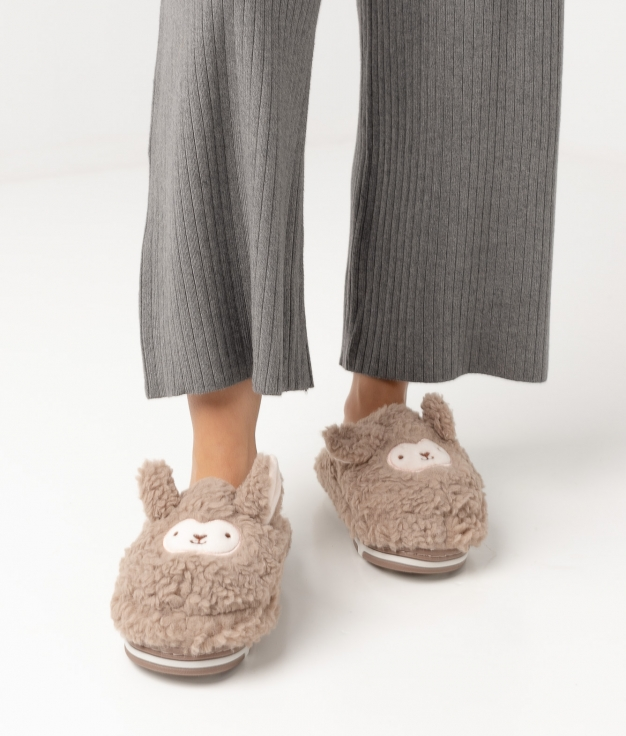 DOLY SLIPPERS - BROWN