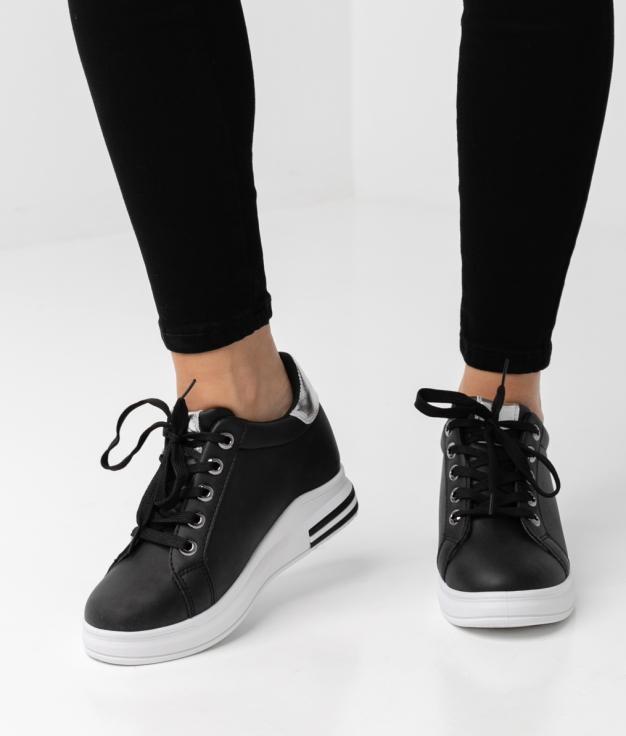 Sneakers Tilmur - Negro/Plata