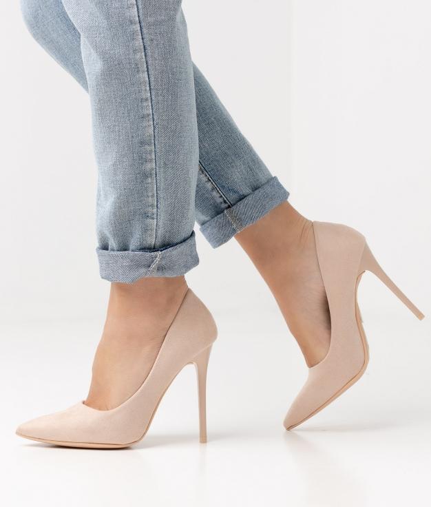 Zapato de Tacón BALMA - BEIGE