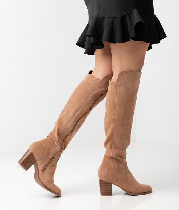 Knee-length Boot Grenta - Beige