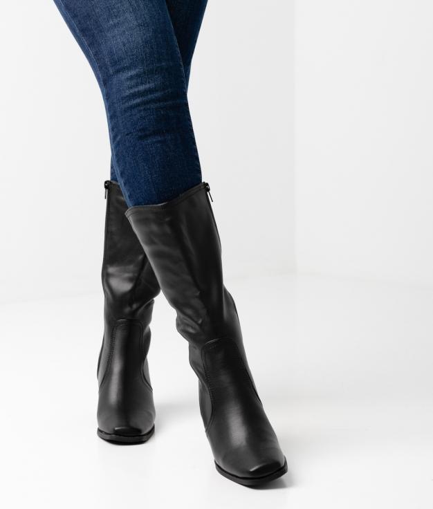 Eleria Knee-length Boot - black