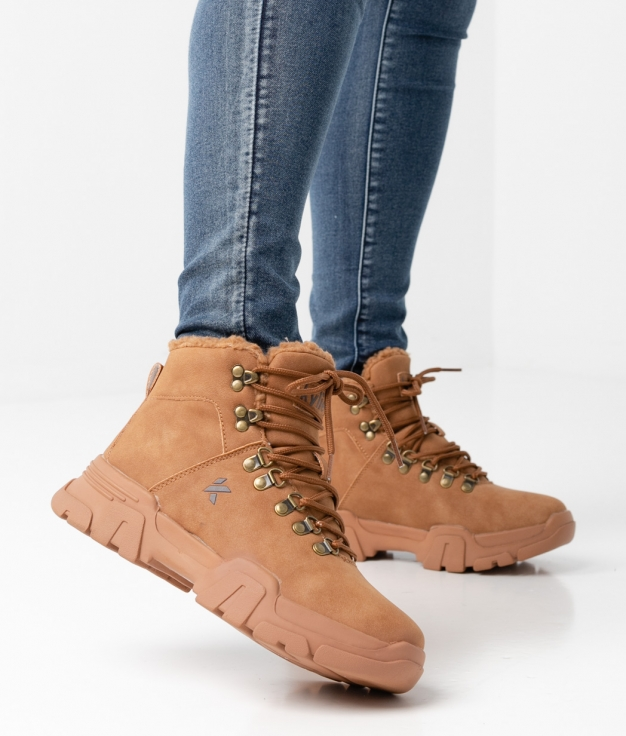 Low Boot ASTER - Camel