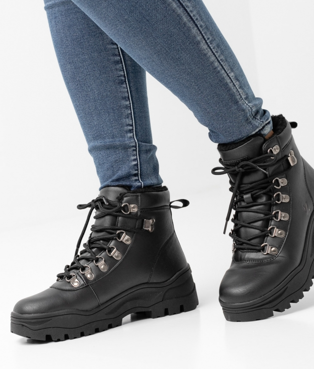 Low Boot Calder - BLACK