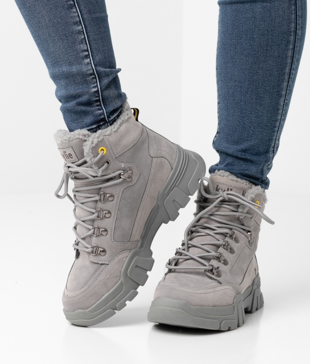 Low Boot MONT - GRAY