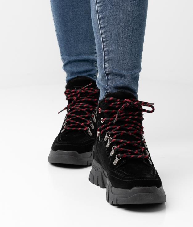 Low Boot MONT - BLACK
