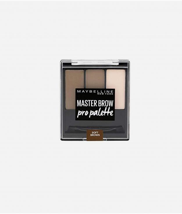 PALETA CEJAS MASTER BROW MAYBELLINE - SOFT BROWN