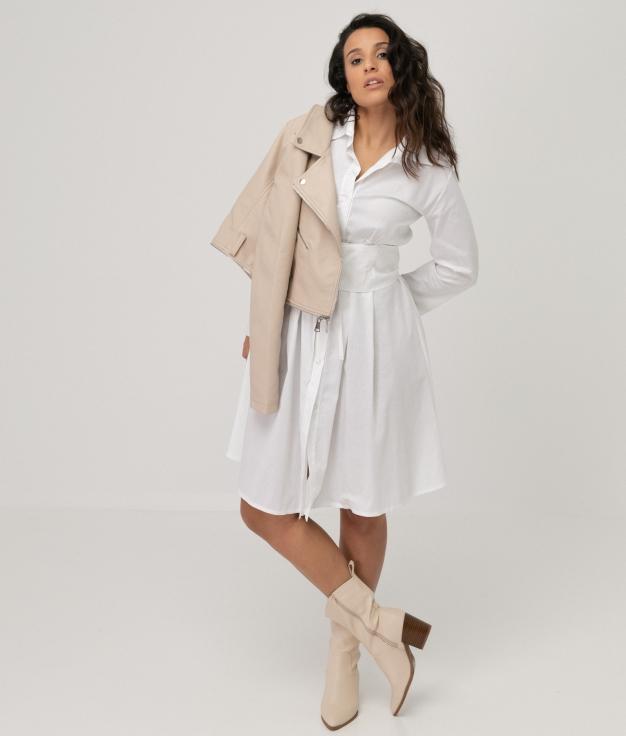 Vestido Hungrel - Blanc