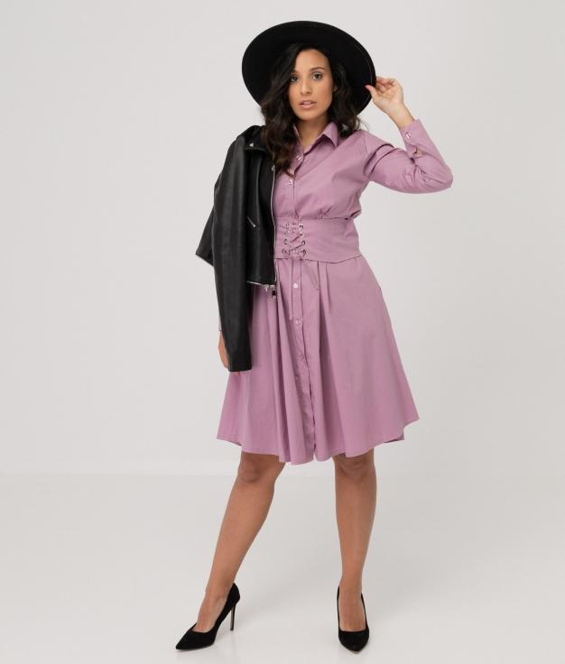 Vestido Hungrel - Lila