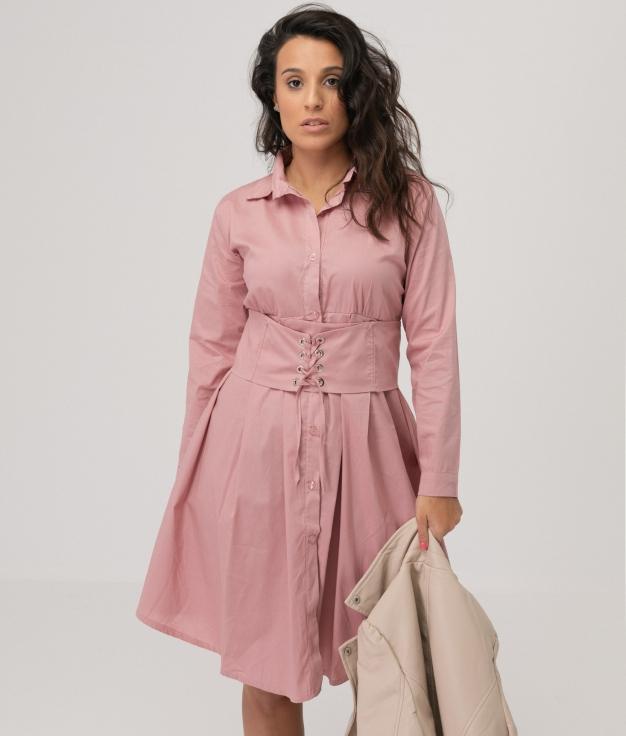 Vestido Hungrel - Rosa