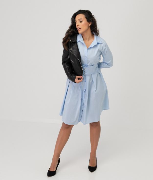 Vestido Hungrel - Bleu