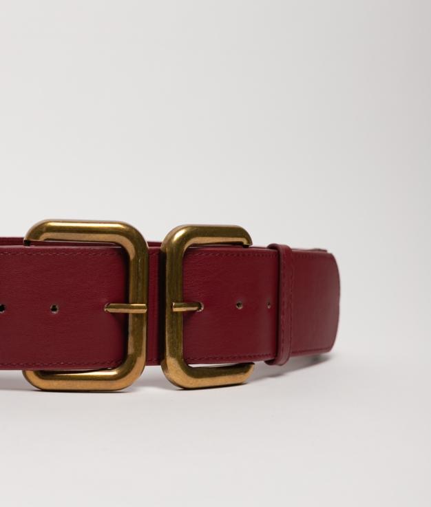 Cinturón elastico Zulu -granate