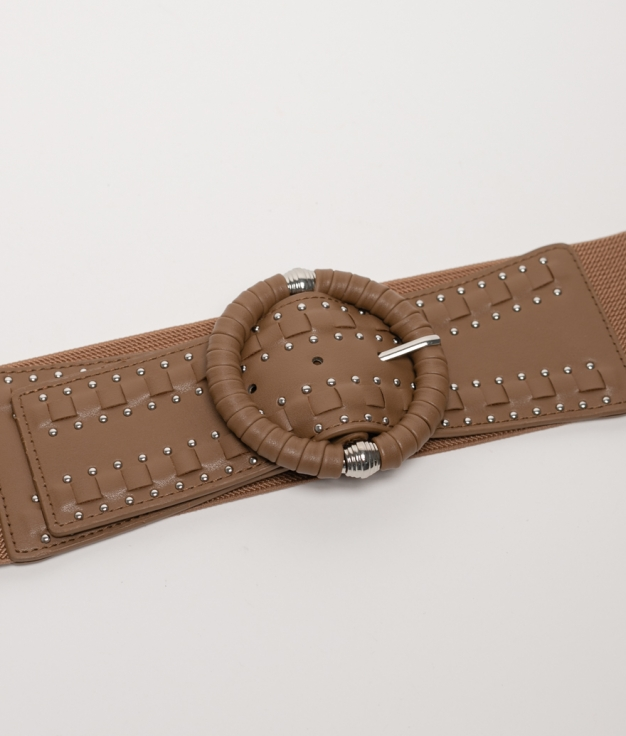 Cinturón elastico Sidonia - taupe