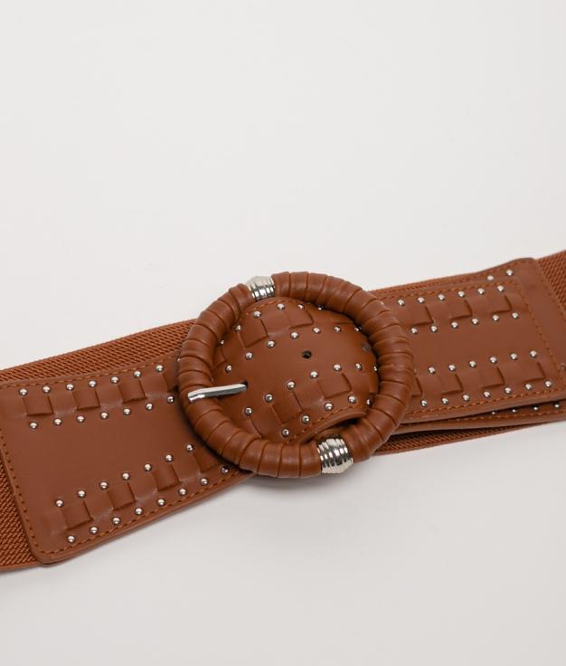 Cinturón elastico Sidonia - cuero