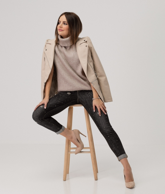 LARE TROUSERS - GREY