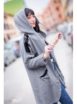 Chaqueta Waters - Gris